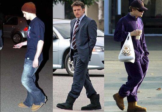 Justin Timberlake, Ben Affleck, Leonardo di Caprio
