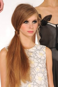 Ponytail Hairstyles trend 2013