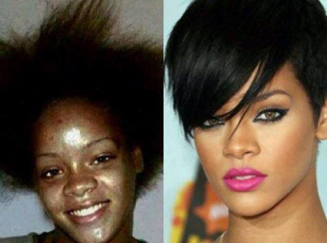 Rihanna-before