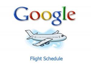 google-flight-schedule