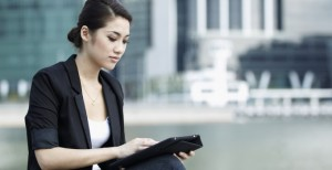 woman-using-tablet